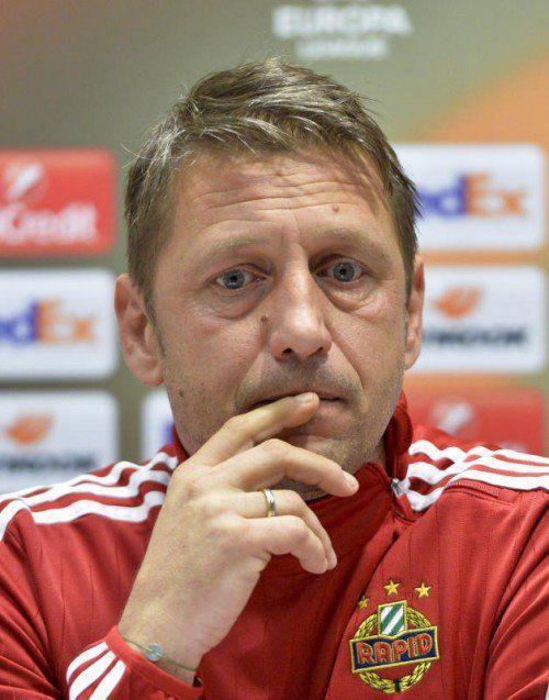 Zoran Barisic schweigt in Sachen Vertragsverlängerung.