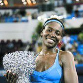 Venus Williams siegte im Finale von Zhuhai