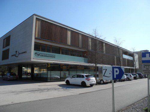 Zwischen der Raiffeisenbank Rankweil und Feldkirch (hier die Bankstelle in Tosters) ist ein Zusammenschluss geplant.