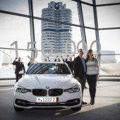 BMW-Welt mit einem Jubiläum