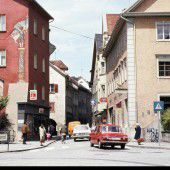 vorarlberg einst und jetzt. Werdenbergerstraße