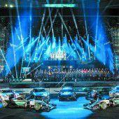 Mercedes feierte seine PS-Stars