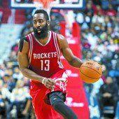 James Harden führte die Rockets zum Erfolg