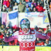 Dritter Triumph in Serie für Svindal