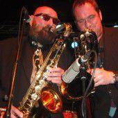 Donnelly und Band in der Kammgarn