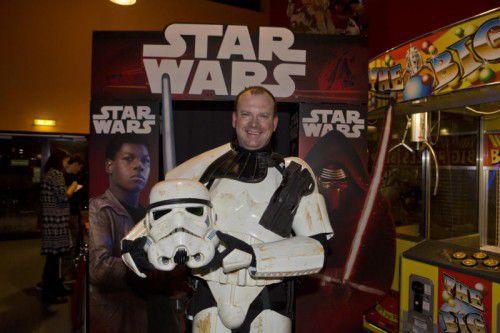 Alexander Karnitschnig hat Spaß daran, sich als Star-Wars-Charakter zu verkleiden.