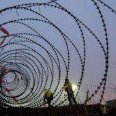 Zaun wird gemietet