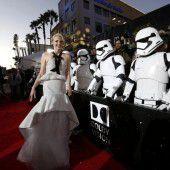 Hollywood feierte die Rückkehr der Jedi-Ritter