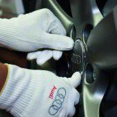 Audi steigert den Autoabsatz