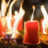 Der Advent ist brandgefährlich