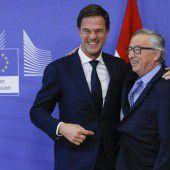 Niederlande übernimmt schwierigen EU-Vorsitz