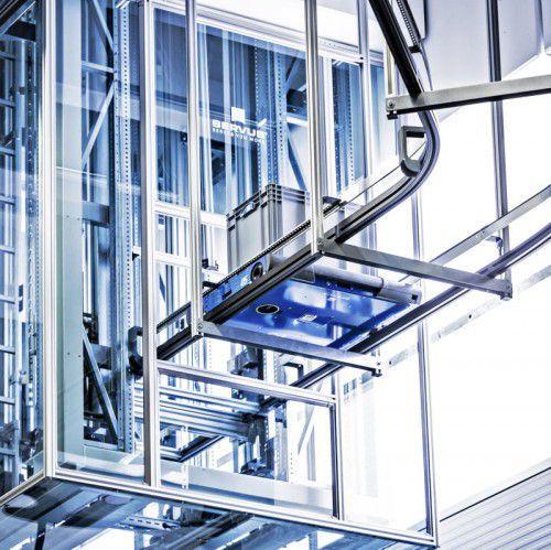 Bei Schelling Anlagenbau in Schwarzach agiert Servus über mehrere Stockwerke hinweg.