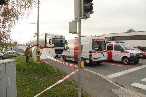 Bei vier der neun tödlichen Unfälle in Vorarlberg waren heuer Lastkraftwagen beteiligt.