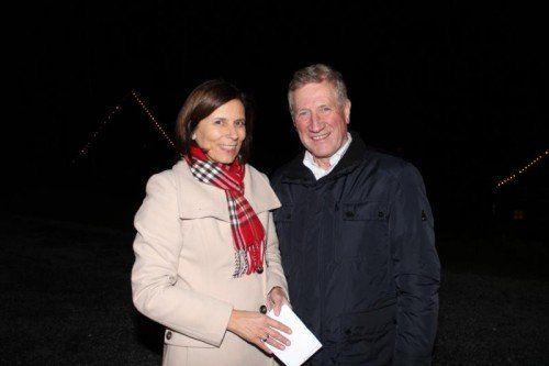 Bgm. Judith Schilling-Grabher und LR Erich Schwärzler.
