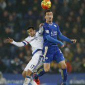 Fuchs bleibt mit Leicester vorne