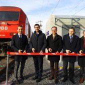 Bahnhofs-Ausbau in Ludesch eröffnet