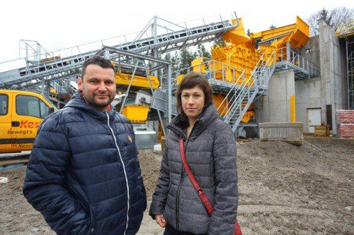 Die beiden Geschäftsführer Christian und Simone Kessler haben große Pläne für die vor fünf Jahren neu errichtete Betriebsanlage Galina. VN