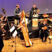 Ein Barockensemble realisiert eine Oper