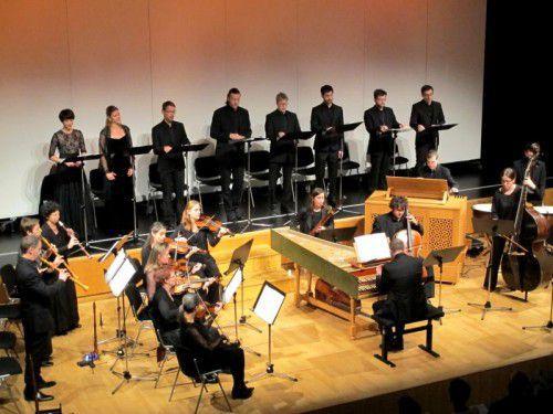 """Concerto Stella Matutina"" mit dem Vokalensemble ""Cappella Murensis""."