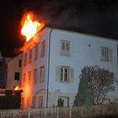 Wasserpfeife führte zu Brand