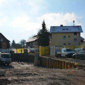 Quartierbau in Hard macht große Fortschritte