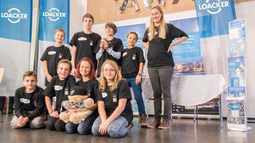 Das Team der Mittelschule Altach widmete sich der Welt der Wertstoffverarbeitung.