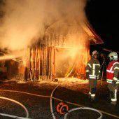 Brandstifter machen Lustenau unsicher