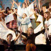 Himmlische Aufregung beim Musical der Kisis