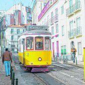 Fahrt mit der Straßenbahn 28