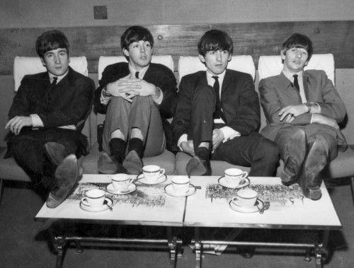 Die Beatles: (v. l.) John Lennon, Paul McCartney, George Harrison und Ringo Starr.