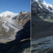 Österreichs Gletscher stark geschmolzen