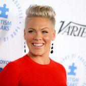 Pink wird Unicef- Botschafterin