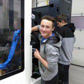 CNC-Maschine für Lehrlinge