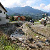 Restarbeiten bei Großprojekt Vermülsbach