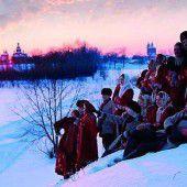 Alt-russische Winterfeste und -bräuche