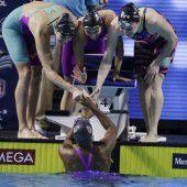 Weltrekord für US-Damen über 4 mal 100 Meter