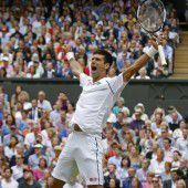 Djokovic – die Nummer eins in Europa