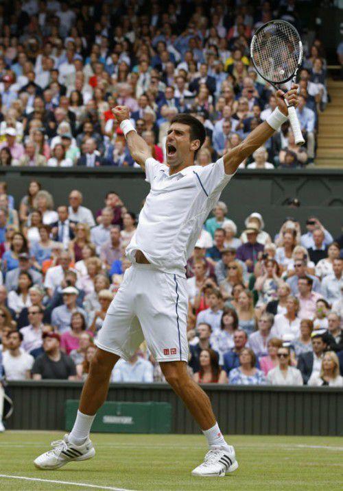 Djokovic wurde nach 2011 wieder Europas Sportler der Jahres.