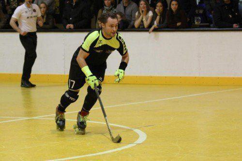 Dominique Kaul erzielte zwei Tore gegen Thunerstern.