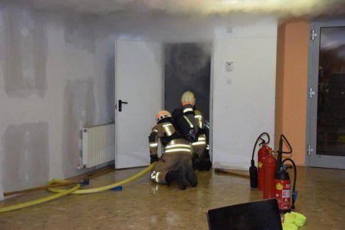 Ein technischer Defekt an einem Boiler löste einen Feuerwehreinsatz in der Dornbirner Flüchtlingsunterkunft aus.
