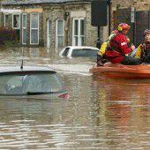 England vor dritter Hochwasserwelle