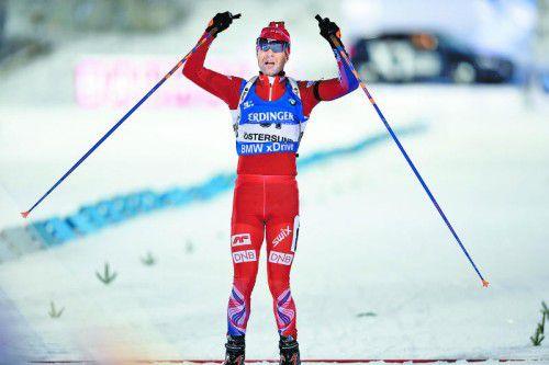 Erster Sieg seit 2012: Ole Einar Björndalen.