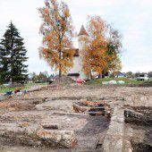 Wasserwerk neu und historische Grabungen