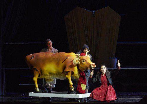 """""""Fatima oder von den mutigen Kindern"""" von Johanna Doderer wurde gestern Vormittag an der Wiener Staatsoper uraufgeführt."""