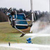 Immer weniger Schnee in Wintersportregionen