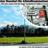 Sulz: Pläne für ASZ werden konkret