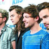One Direction gehen in die Pause