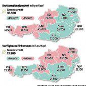Vorarlberg wirtschaftet sich 2014 an die Spitze