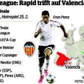 Auf SK Rapid Wien wartet Valencia