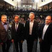 Mehr als 300 Besucher bei Wahldebatte im Hohenemser Löwensaal